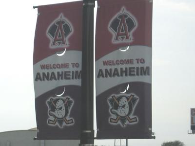 Anaheim  Streetbanners  Ducksangels
