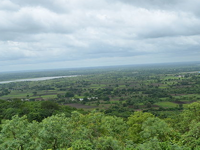 View From Ananthagiri Hills