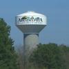 An Arkadelphia Watertower Seen From Interstate