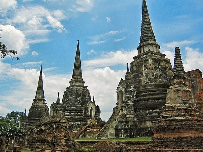 Ancient Thai Capital In Ayutthaya
