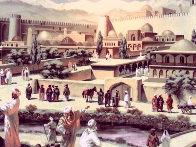 Ancient  Taraz  Kazakhstan
