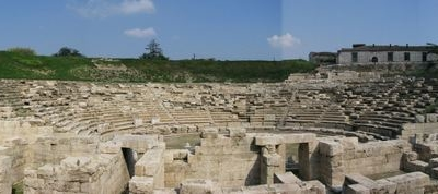 The Ancient Theatre Of The City