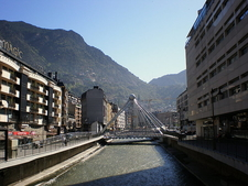 Gran Valira River In Andorra