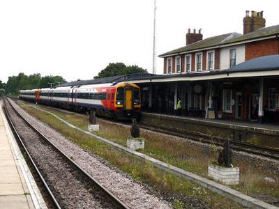 A Train Bound For Salisbury