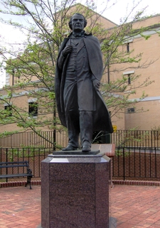 Andrew Johnson Statue Greeneville