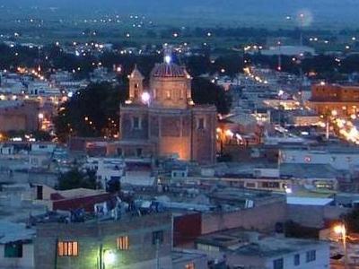 An Evening View Of Tulancingo
