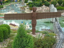 Angel Of The North In Miniland