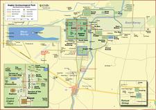 Angkor Complex Map
