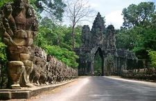 Angkor Thom South Gate - Siem Reap - Cambodia