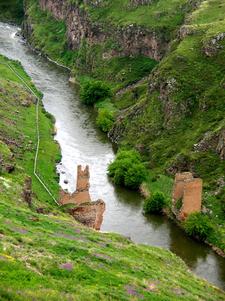 A Ruined Bridge In Ani