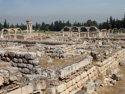 Ruins Of Umayyad Palace