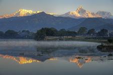 Annapurna & Machapuchare From Pokhara - Nepal