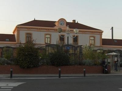 Annemasse Railway Station Main Entrance