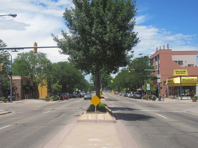 Another Glimpse Of Downtown  Longmont  2 C  C O  I M G  5 2 2 8