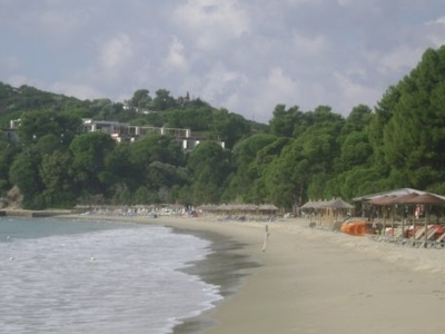 Another View Of Koukounaries Beach