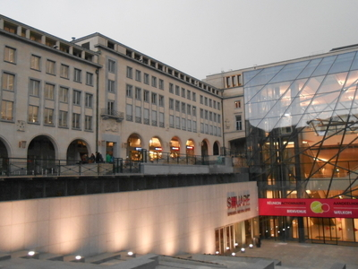 Another View Of Square - Brussels Meeting Centre