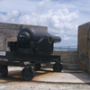 An RML 10 Inch 18 Ton Gun At Fort St Catherine