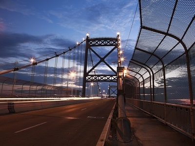 Anthony Wayne Bridge In Toledo OH