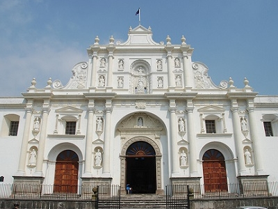 Antigua Cathedral Front View