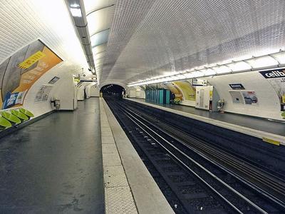 Anvers Station Platform