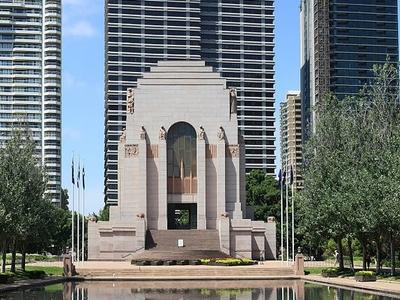 ANZAC War Memorial - Hyde Park