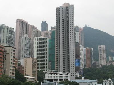 Apartment  Blocks In  Mid  Levels