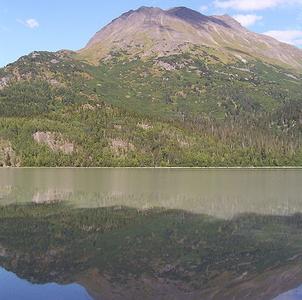 A Peak In The Chugach Mountains
