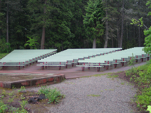 Apgar Campground - Glacier - Montana - USA