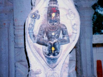 A Pillar At Ahobilam Temple