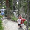 Appistoki Falls Trail - Glacier - Montana - United States