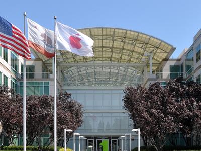 Apple  Headquarters In  Cupertino