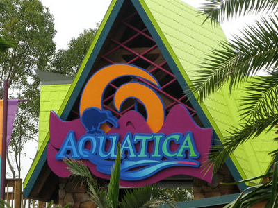 Aquatica Main Entrance