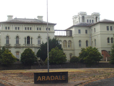 Former Aradale Mental Hospital