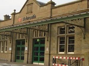 La estación de tren Arbroath