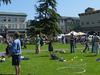 Arcata Plaza On Farmers Market Day