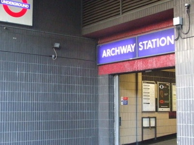 Archway Station Side Entrance