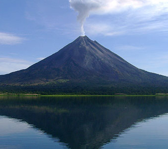 Arenal Volcano At Day