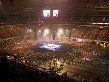 Veltins-Arena During A Pur Concert