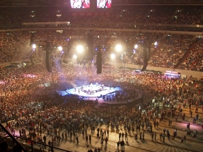 Veltins-Arena During A Pur Concert