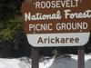 Arickaree Picnic Area Sign