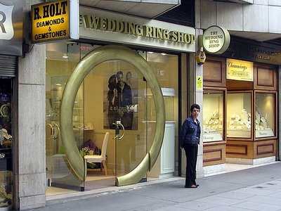 A Ring Shop In Hatton Garden