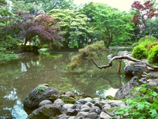 Pond Of Arisugawa-no-miya Memorial Park