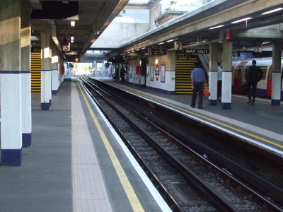 Looking South From Terminating Platform