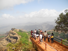 Arthur's Seat Viewing Platform - Mahabaleshwar - Maharashtra - India