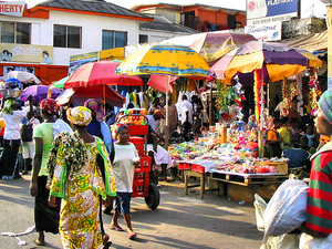 West African Markets and Cuisine Photos