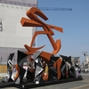 Art Sculpture At Piazza Del Duomo South Side - Milan