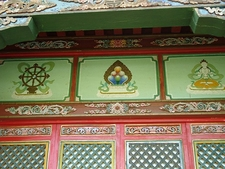 Artwork At Tsetserleg Monastery