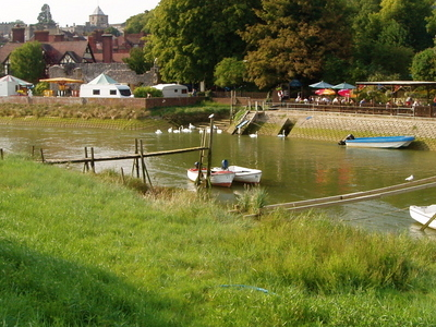 Arundel    West  Sussex     River  Arun