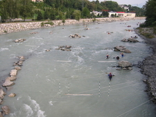 Arve River Near Annemasse