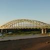 Asahibashi Bridge Asahikawa Hokkaido Japan
